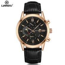 Zegarek Męski LIANDU Moon Klasa Premium New