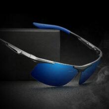 Mega Lekkie Spolaryzowane Okulary Przeciwsłoneczne bez oprawek Slim