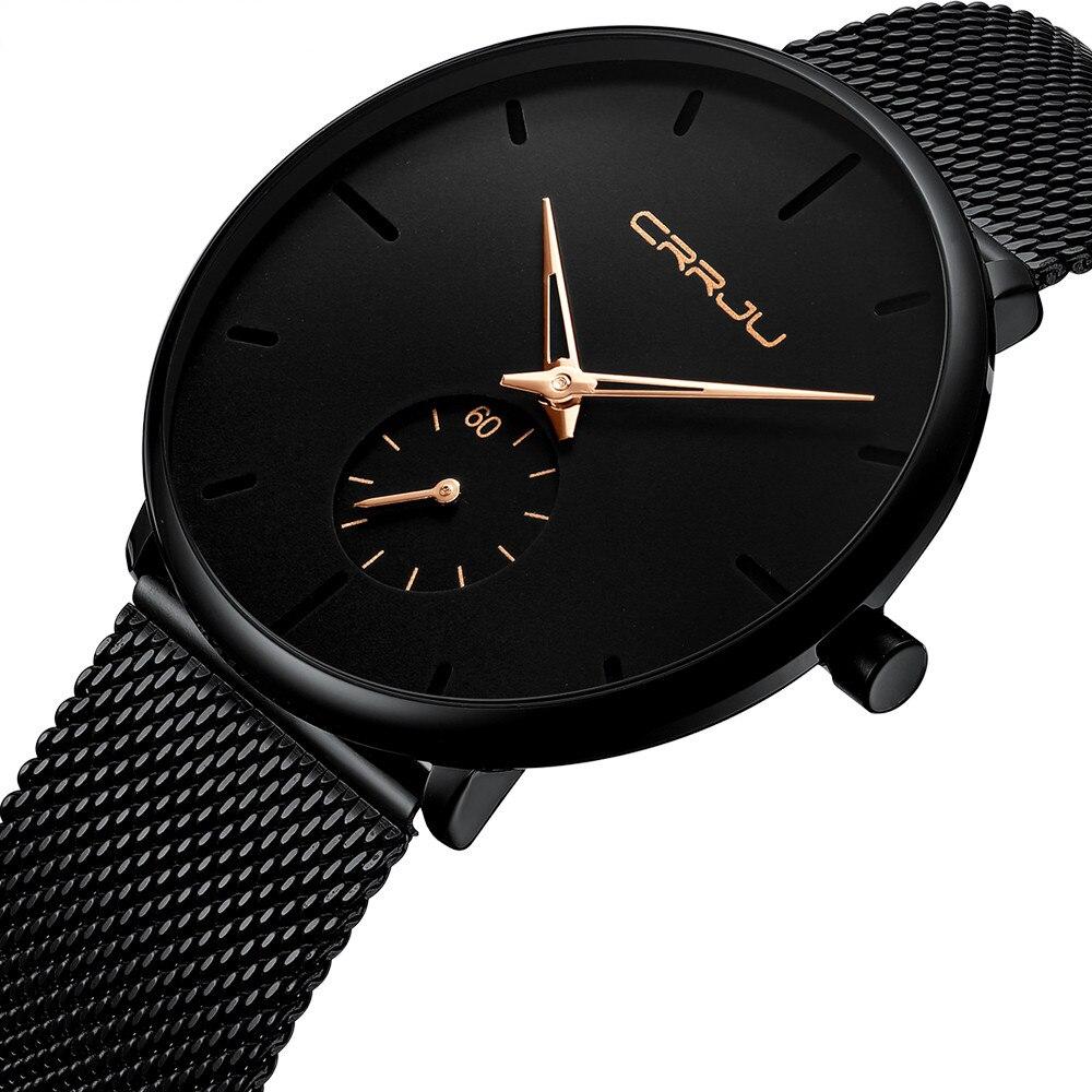 7251 869fe8 - Zegarek CRRJU Black Shadow