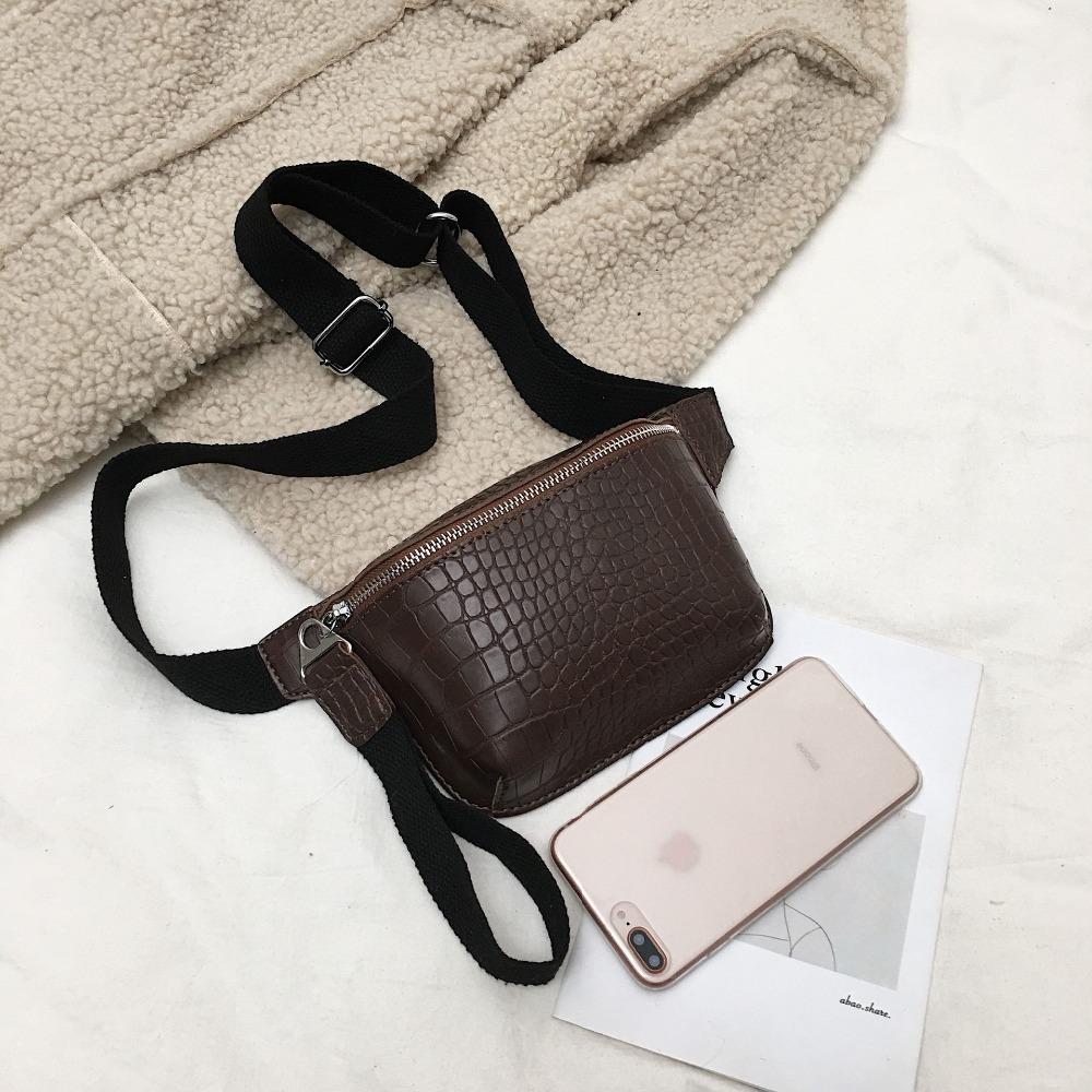 CROWDALE torebka damska krokodyl wielokolorowa torba kurierska na klatkę piersiową sprzęgła kobiet Pu skórzana torebka torba crossbody moda wysokiej jakości
