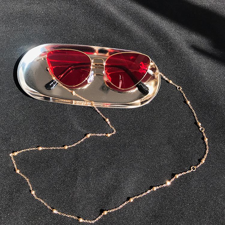 Moda Chic kobiet okulary łańcuchy okulary czytanie zroszony łańcuszek do okularów okulary uchwyt na przewód smycz na szyje liny