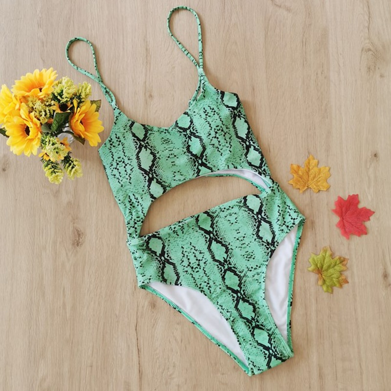 Kobiety strój kąpielowy Sexy One piece Cut Out stroje kąpielowe Vintage body bandaż stałe brazylijskie Monokini strój kąpielowy stroje kąpielowe
