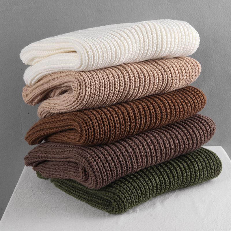 Hirsionsan luźne, jesienne swetry damskie 2020 nowy koreański elegancki sweter z dzianiny ponadgabarytowe ciepłe damskie swetry moda jednolite topy