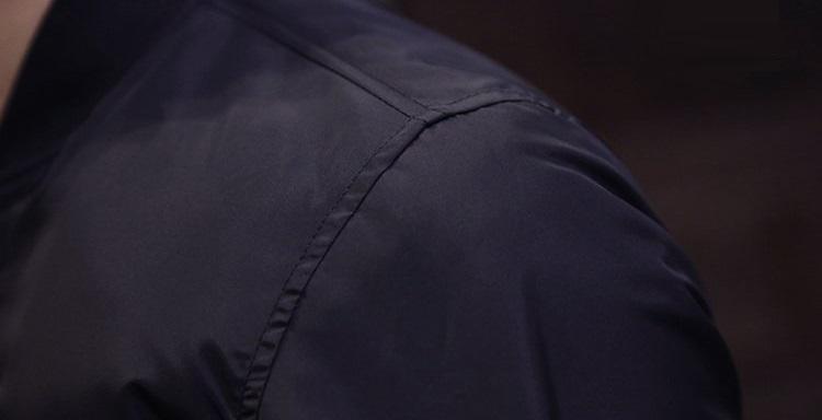 Mężczyźni Baseball kurtka haftowane skórzane Pu płaszcze Slim Fit College z polaru luksusowy Pilot kurtki męskie stanąć kołnierz góry kurtka płaszcz