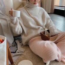 Sweterek z golfem Greta