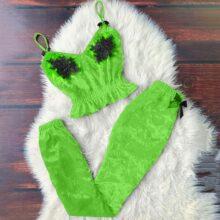 Seksowna aksamitna piżama komplet Camisole krótki Top + spodnie damskie jesienno-zimowa bielizna nocna bielizna nocna nowość koszula nocna