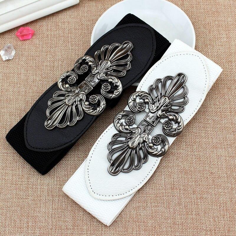 2020 nowych moda koreański styl klamra elastyczny szeroki pas szeroki pasek Cummerbund pas biodrowy kobiet kobiet akcesoria