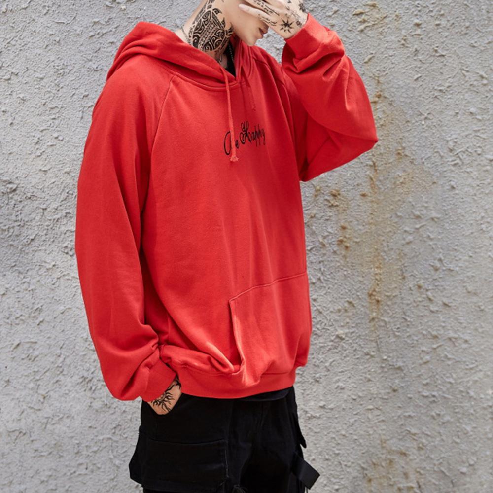 Bluzy z kapturem męskie Happy Smiling Face Print bluzy z kapturem damskie patchworkowe bluzy z kapturem hiphopowy sweter bluza z kapturem