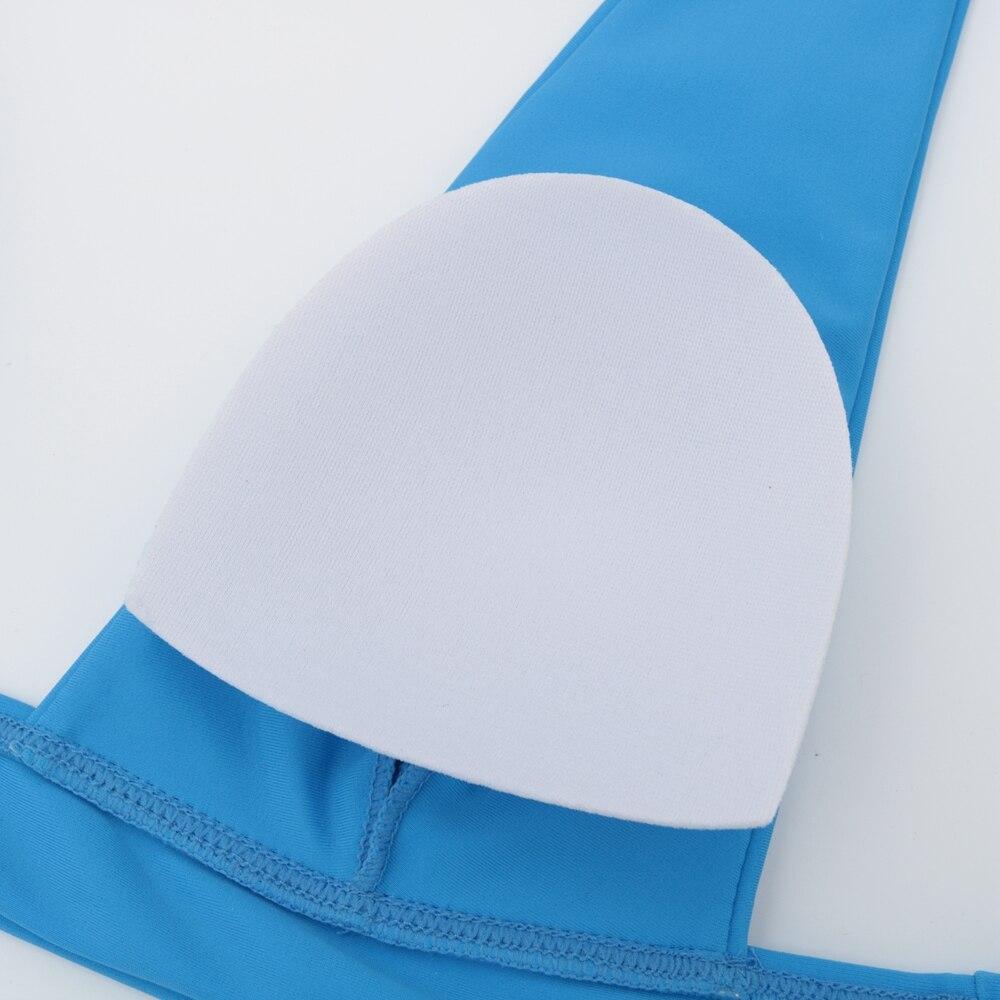 Nowe seksowne Bikini 2021 jednokolorowy strój kąpielowy kobiety stroje kąpielowe zestaw Bikini Push-Up brazylijski strój kąpielowy letnia plaża nosić strój kąpielowy XL