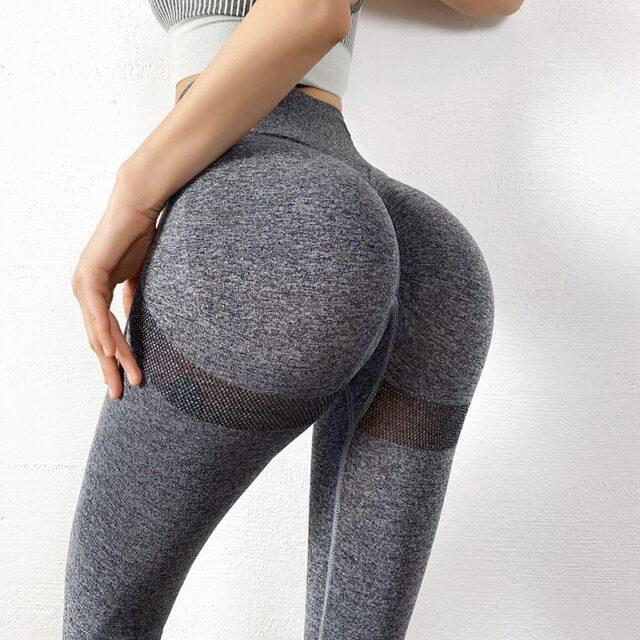 SVOKOR Fitness legginsy damskie Push Up Gym odzież damska wysokiej talii krótkie legginsy Sexy spodnie do ćwiczeń kobiece kostki kolano długość