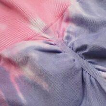 Nowy zestaw do barwienia bez szwu joga siłownia odzież sportowa wysokiej talii legginsy gimnastyczne garnitur stanik sportowy garnitury sportowe joga top 2020