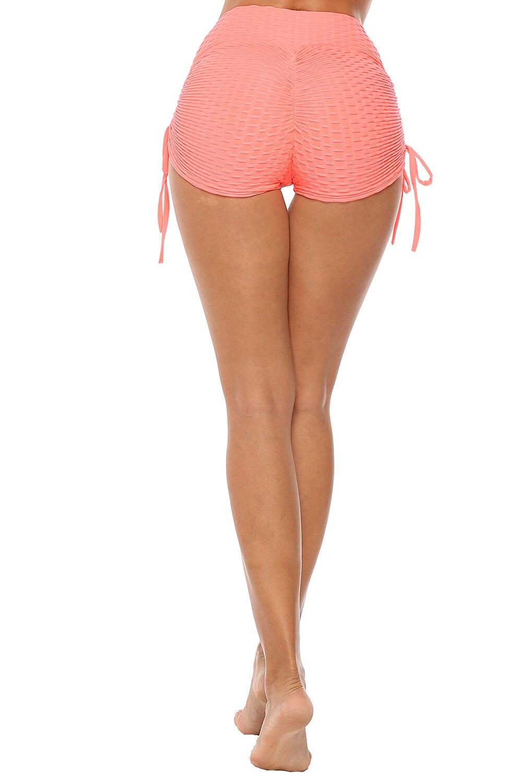 Seksowne damskie sportowe spodenki z wysokim stanem Athletic Gym Workout Fitness joga legginsy figi sportowe oddychające