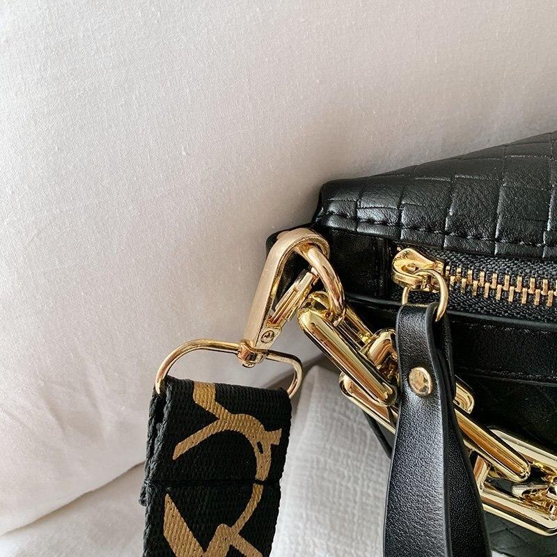 Luksusowe damskie piterek wysokiej jakości torba na biodro gruby łańcuch Crossbody na ramię torba na klatkę piersiowa kobiet saszetka na pasek projektant marki kobiet torebki