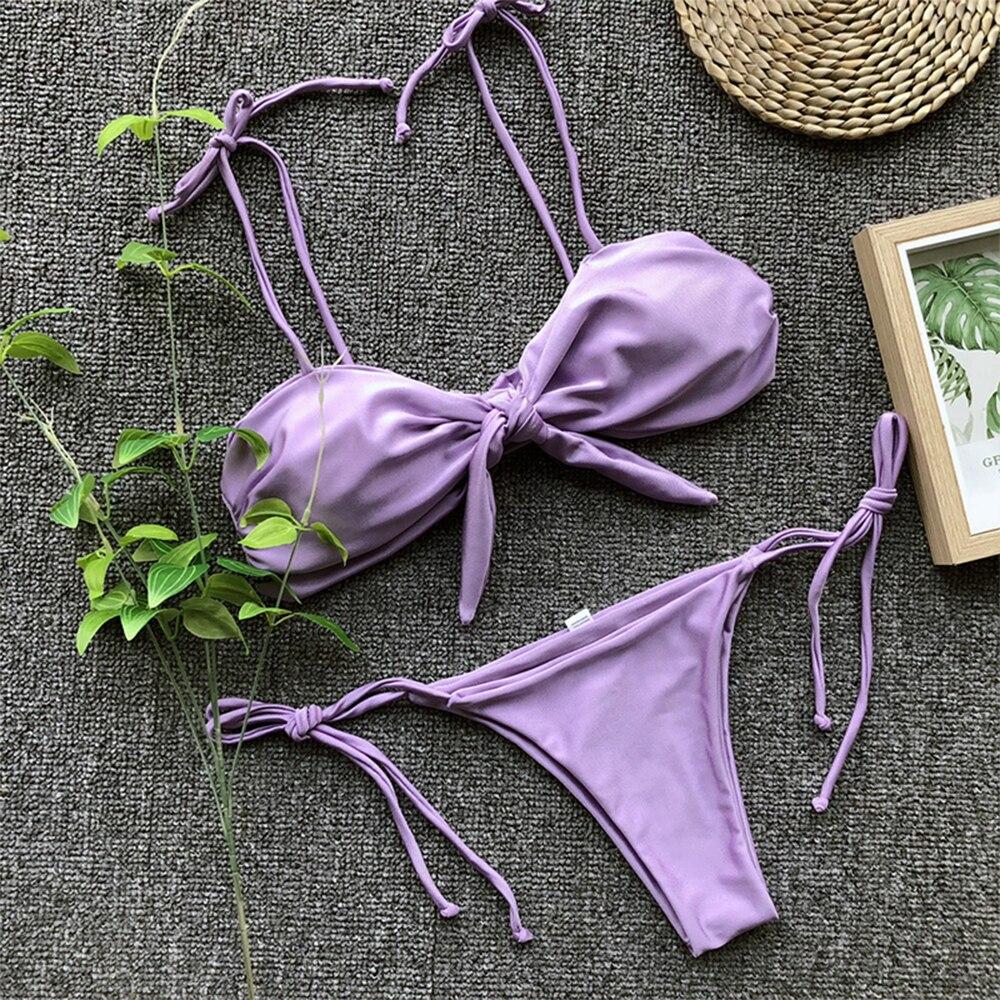 2021 nowych kobiet strój kąpielowy Bikini seksowny przedział stroje kąpielowe moda europejska i amerykańska gorąca sprzedaż stroje kąpielowe lato Spa surfowanie Sport